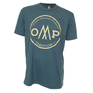 October Mountain Tradition Tee Indigo X-large