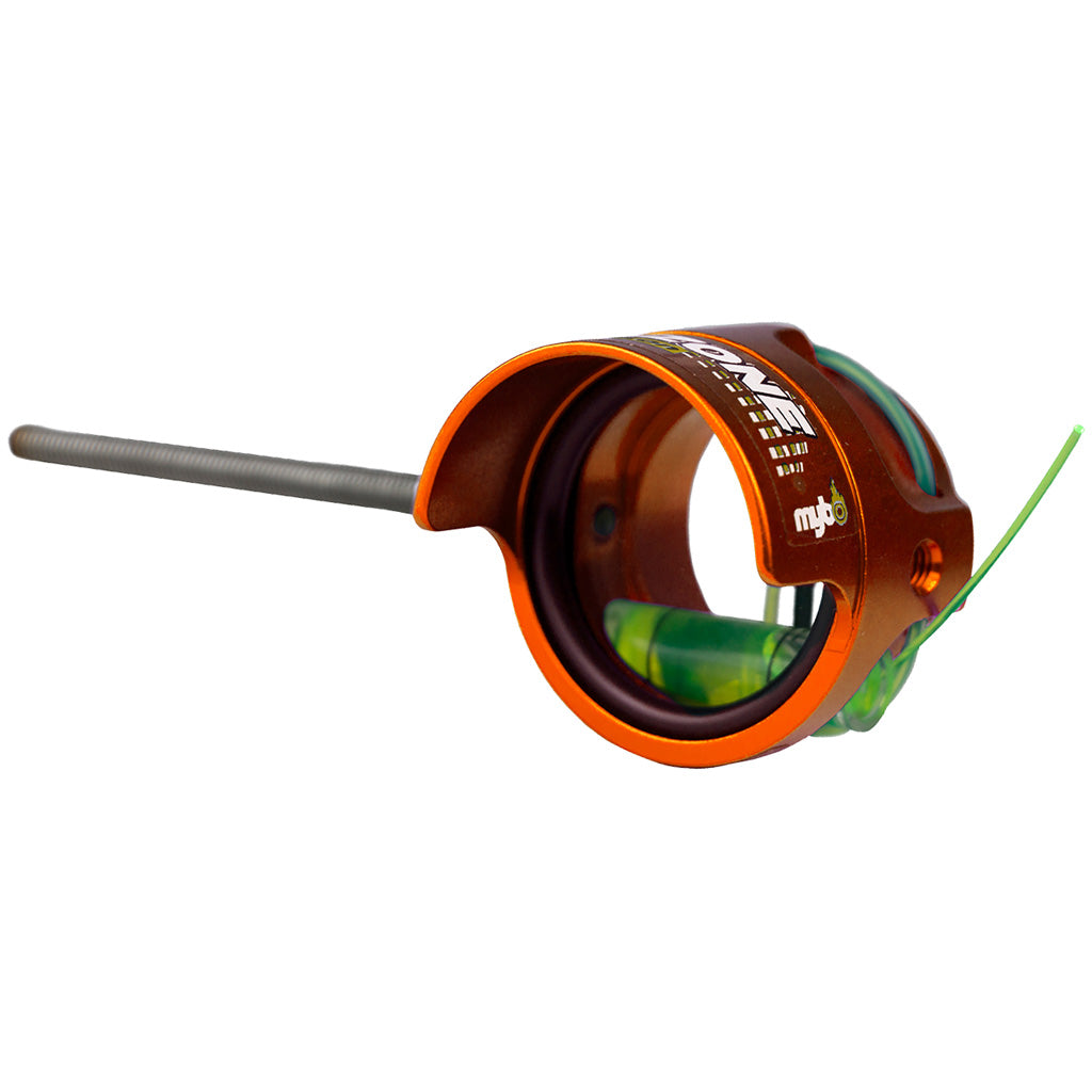 Mybo Ten Zone Scope Blaze Orange 0.75 Diopter Green Fiber