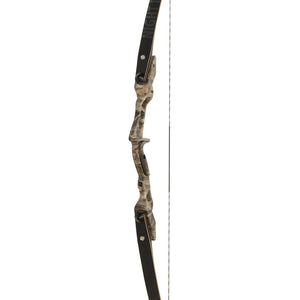 October Mountain Night Ridge Ilf Recurve Bow Camo 60 In. 35 Lbs. Rh