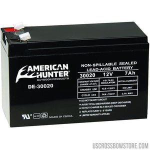 American Hunter Rechargeable Battery 12v-American Hunter-US Crossbow & Archery Store