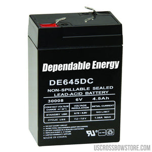 American Hunter Rechargeable Battery 6v F-tab-American Hunter-US Crossbow & Archery Store