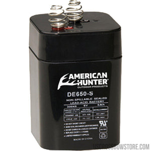 American Hunter Rechargeable Battery 6v Spring Top-American Hunter-US Crossbow & Archery Store