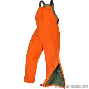 Arctic Shield Classic Elite Bibs Blaze Orange X-large-Hunting Clothing & Apparel-US Crossbow & Archery Store