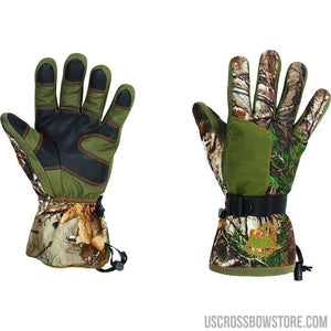 Arctic Shield Classic Elite Glove Realtree Edge Medium-Hunting Clothing & Apparel-US Crossbow & Archery Store