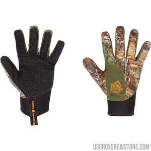 Arctic Shield Echo Insulated Shooters Glove Realtree Edge Large-Hunting Clothing & Apparel-US Crossbow & Archery Store
