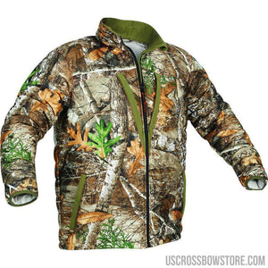 Arctic Shield Heat Echo Loft Jacket Realtree Edge Large-Hunting Clothing & Apparel-US Crossbow & Archery Store