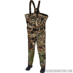 Arctic Shield Heat Echo Select Chest Wader Realtree Max 5 14-Fishing & Camping Equipment-US Crossbow & Archery Store