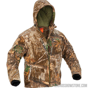 Arctic Shield Heat Echo Sherpa Jacket Realtree Edge Large-Hunting Clothing & Apparel-US Crossbow & Archery Store