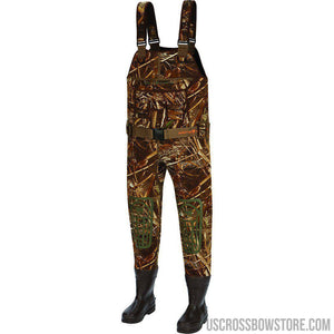 Arctic Shield Neoprene Deluxe Chest Wader Realtree Max 5 13-Fishing & Camping Equipment-US Crossbow & Archery Store