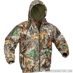Arctic Shield Quiet Tech Jacket Realtree Edge Medium-Hunting Clothing & Apparel-US Crossbow & Archery Store
