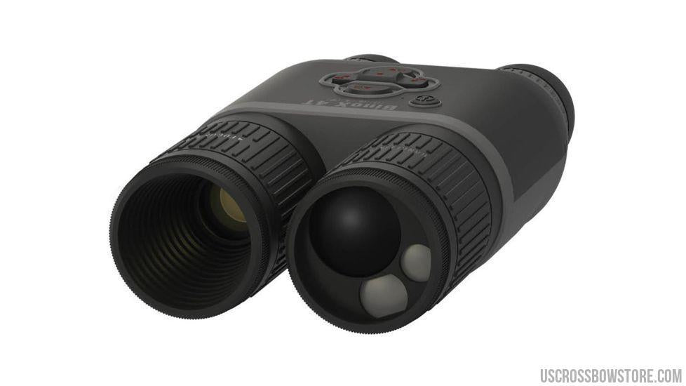 Atn Binox-4T 640-1-10X, 640X480, 19Mm, Thermal Binocular With Laser Range Finder, Full Hd Video Rec, Wifi, Gps, Smooth Zoom And Smartphone Controlling Thru Ios Or Android Apps-binoculars-US Crossbow & Archery Store