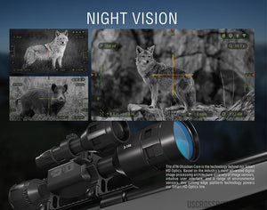 Atn X-Sight 4K Pro 3-14 Rifle Scope-night scope-US Crossbow & Archery Store