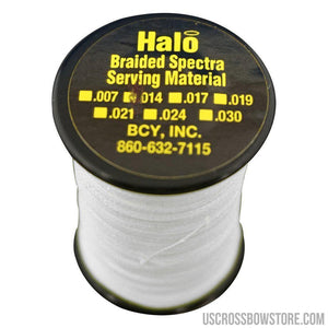 Bcy Halo Serving White .014 120 Yds.-Bcy-US Crossbow & Archery Store