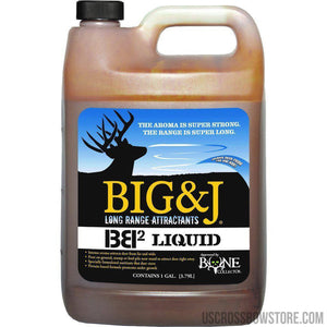 Big And J Bb2 Liquid Attractant 1 Gal.-Hunting-US Crossbow & Archery Store