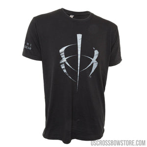 Blackheart Distressed Icon Tee Black Large-Hunting Clothing & Apparel-US Crossbow & Archery Store