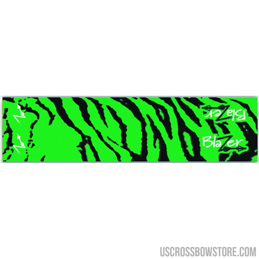 Bohning Blazer Arrow Wraps Green Tiger 4 In. 13 Pk.-Archery Products-US Crossbow & Archery Store