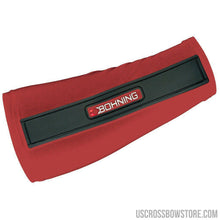 Load image into Gallery viewer, Bohning Slip-on Armguard Red Small-Archery Products-US Crossbow & Archery Store