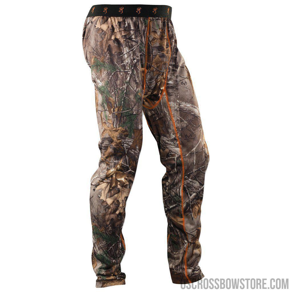 Browning Base Layer Pants Midweight Rt Xtra 2x-large-Browning-US Crossbow & Archery Store