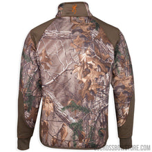 Load image into Gallery viewer, Browning Fleece 1-4 Zip Jacket Realtree Xtra Large-Hunting Clothing & Apparel-US Crossbow & Archery Store