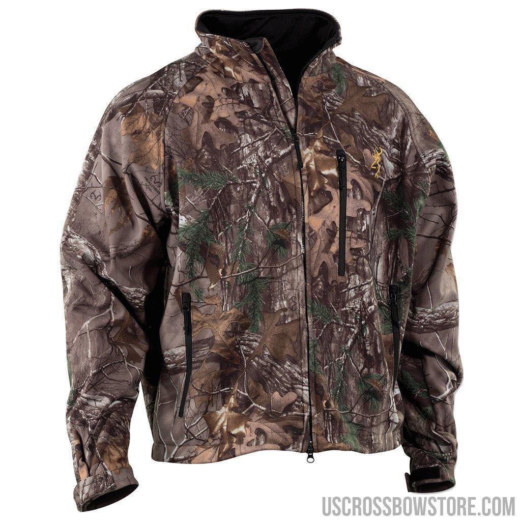 Browning Wasatch Soft Shell Jacket Realtree Xtra X-large-US Crossbow & Archery Store