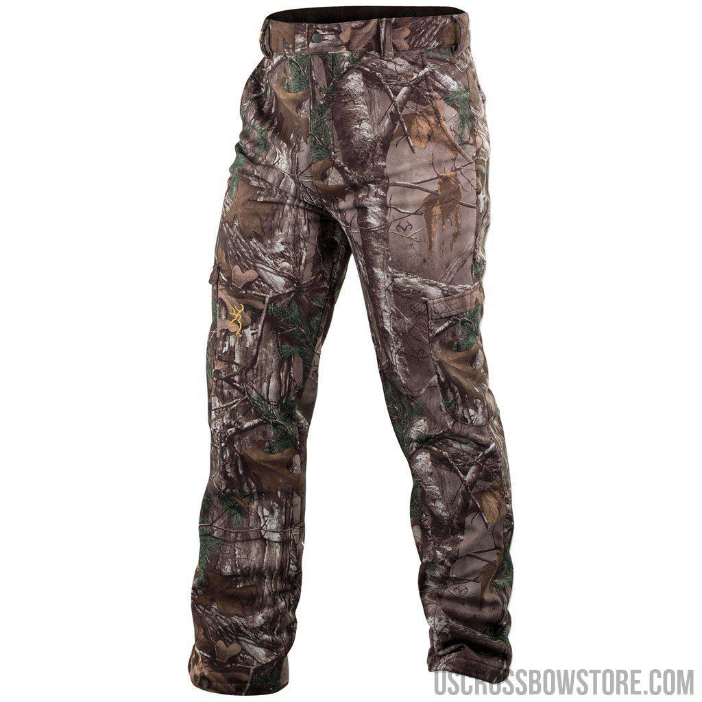 Browning Wasatch Soft Shell Pants Realtree Xtra X-large-Browning-US Crossbow & Archery Store