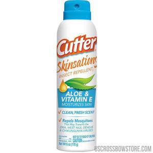 Cutter Skinsations Insect Repellent 7% Deet 6 Oz.-Cutter-US Crossbow & Archery Store