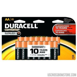 Duracell Coppertop Batteries Aa 16 Pk.-Duracell-US Crossbow & Archery Store
