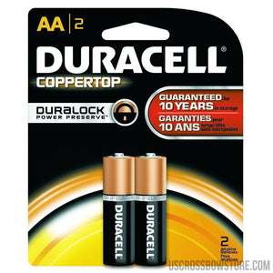 Duracell Coppertop Batteries Aa 2 Pk.-Duracell-US Crossbow & Archery Store