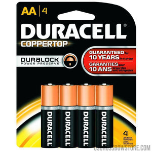 Duracell Coppertop Batteries Aa 4 Pk.-Duracell-US Crossbow & Archery Store