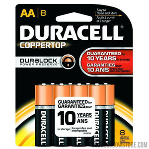 Duracell Coppertop Batteries Aa 8 Pk.-Duracell-US Crossbow & Archery Store