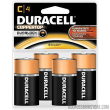 Load image into Gallery viewer, Duracell Coppertop Batteries C 4 Pk.-Hunting-US Crossbow & Archery Store