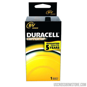 Duracell Coppertop Battery 6 Volt 1 Pk.-Hunting-US Crossbow & Archery Store
