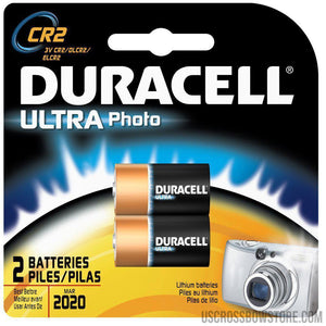 Duracell Lithium Batteries Cr2 2 Pk.-Duracell-US Crossbow & Archery Store