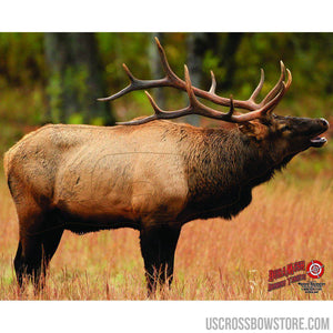 Duramesh Archery Target Elk 1 25 In. X 32 In.-Archery Products-US Crossbow & Archery Store