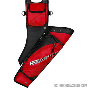 Easton Elite Takedown Hip Quiver W-belt Red Rh-Archery Products-US Crossbow & Archery Store