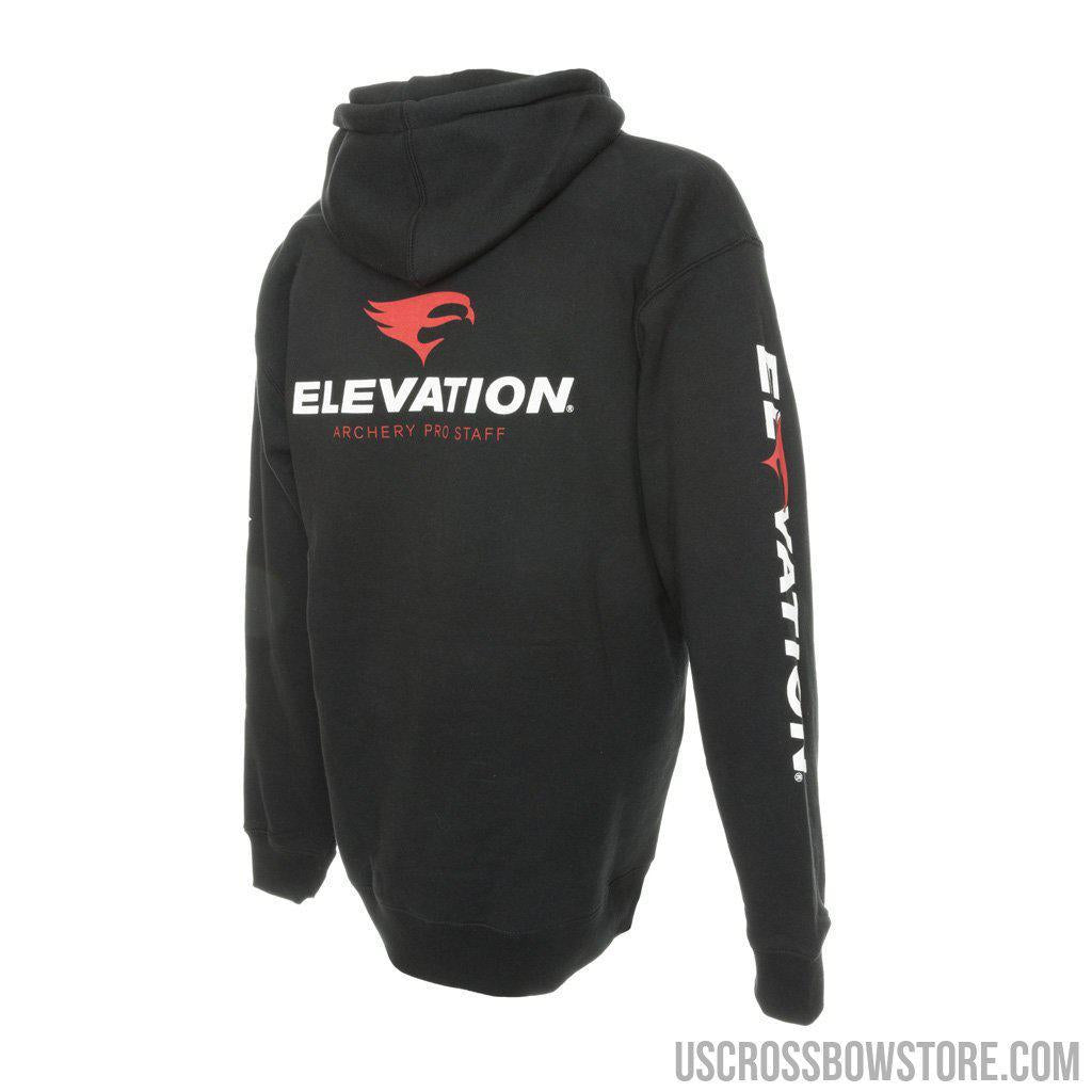 Elevation Archery Pro-staff Hoody Black Medium-US Crossbow & Archery Store