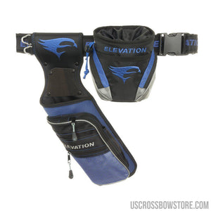 Elevation Nerve Field Quiver Package Blue Lh-Archery Products-US Crossbow & Archery Store