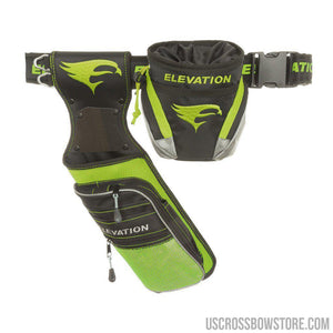 Elevation Nerve Field Quiver Package Green Lh-Archery Products-US Crossbow & Archery Store