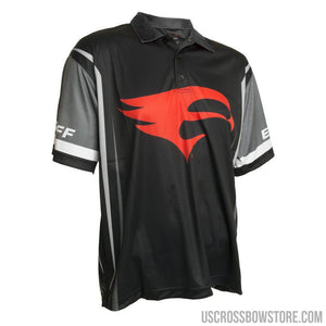 Elevation Pro Shooter Jersey Black-gray-red Medium-Hunting Clothing & Apparel-US Crossbow & Archery Store