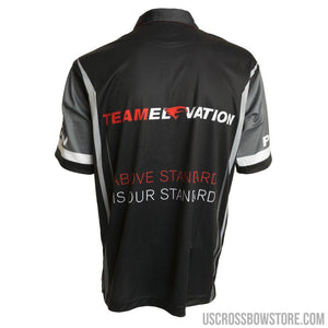 Elevation Pro Shooter Jersey Black-gray-red X-large-Elevation-US Crossbow & Archery Store