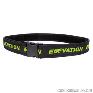 Elevation Pro Shooters Belt Green 28-46 In.-Elevation-US Crossbow & Archery Store