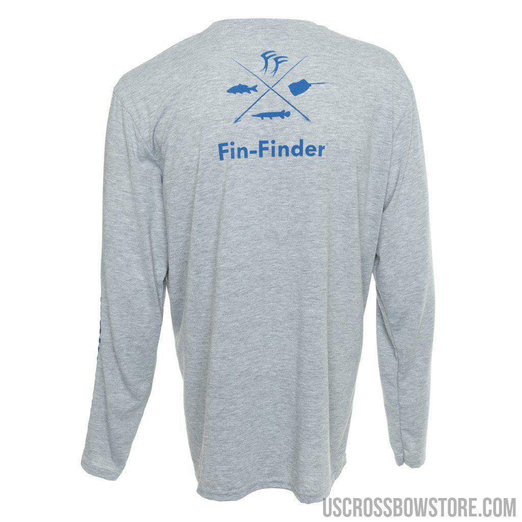 Fin-finder Time To Strike Long Sleeve Performance Shirt Large-US Crossbow & Archery Store