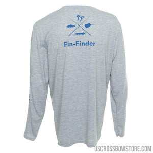 Fin-finder Time To Strike Long Sleeve Performance Shirt Medium-US Crossbow & Archery Store