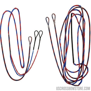 Firststring Genesis String And Cable Set Red- Blue-US Crossbow & Archery Store