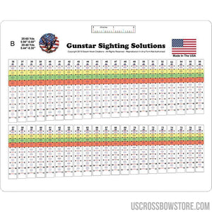 Gunstar Pro Series Sight Tapes B - Medium-Archery Products-US Crossbow & Archery Store