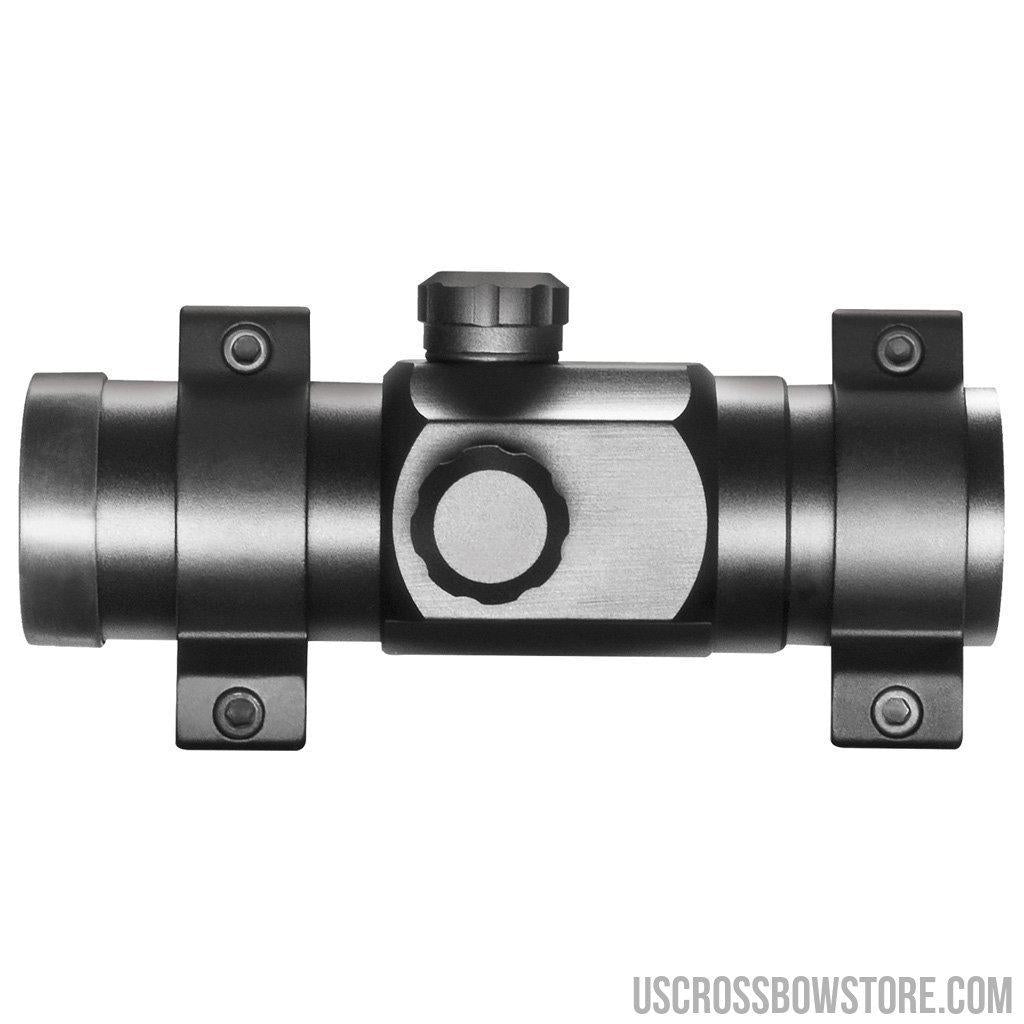 Hawke Red Dot Sight 1x30 Weaver Rings-US Crossbow & Archery Store