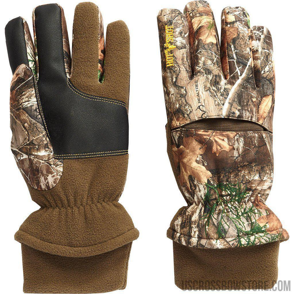 Hot Shot Aggressor Glove Realtree Edge X-large-US Crossbow & Archery Store