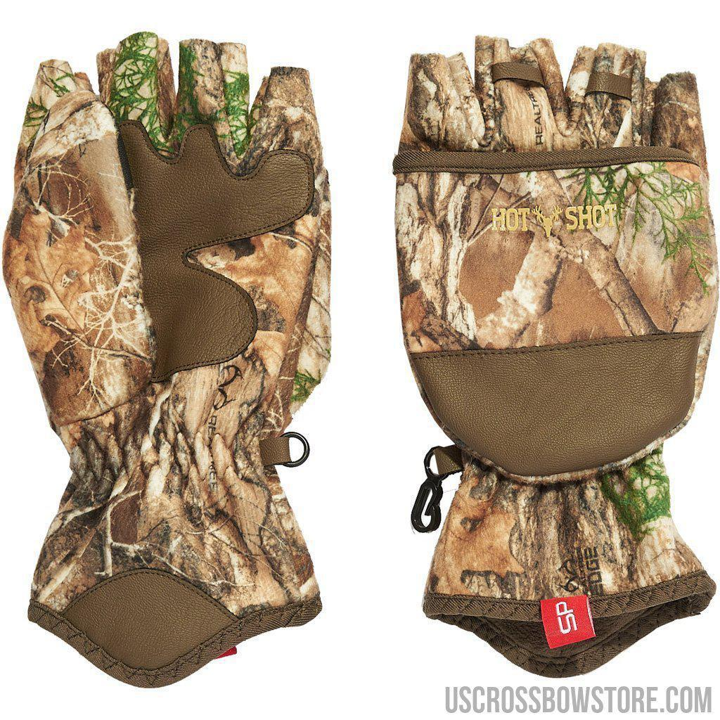 Hot Shot Sling Shot Glove Realtree Edge Large-Hot Shot-US Crossbow & Archery Store