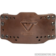 Load image into Gallery viewer, Limbsaver Cross-tech Holster Dark Leather Clip On-Black Powder-US Crossbow & Archery Store