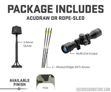 Load image into Gallery viewer, M-370, Acudraw, Multi-Line Scope-Crossbow-US Crossbow & Archery Store